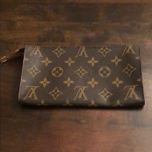 Louis Vuitton small makeup pouch